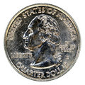 Quarter of Dollar Royalty Free Stock Photo