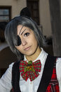 QUARTU S.E., ITALY - December 8, 2016: Cosplay in the junghe VI - Christmas Edition at the former Capuchin monastery - Sardinia
