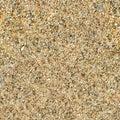 Quartz sand texture. Seamless square texture. Tile ready. Royalty Free Stock Photo