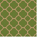 Quatrefoil seamless repeat pattern design