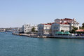 Quay at bay of Sevastopol Stock Photos