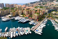 Quay in Monaco Stock Photography