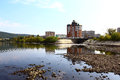 Quay Zelenogorsk Royalty Free Stock Photo