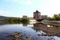 Quay Zelenogorsk Royalty Free Stock Photo