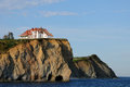 Quebec, the coast of Perce in Gaspesie Stock Photo