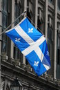Quebec flag Royalty Free Stock Photo