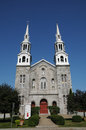 Quebec, the historical church of Lavaltrie Royalty Free Stock Photography