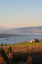 Quebec landscape Royalty Free Stock Photo