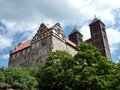 Quedlinburg Castle-hill Stock Photography
