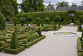 Queen's garden in Paleis Het Loo Stock Photos