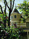 Queen anne landmark constructed in the bishop s house is a building in boise idaho display style architecture Stock Image