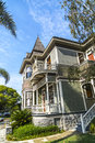 Queen Anne Style House Royalty Free Stock Photo