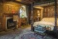 Queen bedroom in Hever Castle Royalty Free Stock Photo