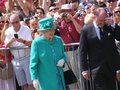 The queen at bowness the lake district i took this photo by chance whilst on holiday in in Stock Photography
