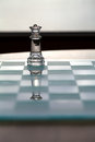 Queen Chess Piece - business concept series. Royalty Free Stock Images