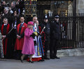 Queen Elizabeth II marks Commonwealth Day Stock Photography