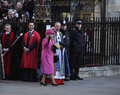 Queen Elizabeth II marks Commonwealth Day Royalty Free Stock Image