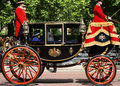 Queen elizabeth ii on the royal coach london uk june seat at s birthday parade man present s birthday parade Stock Photos