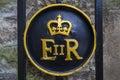 Queen Elizabeth II Symbol At T...