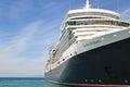 Queen Elizabeth liner Royalty Free Stock Photo