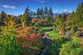 Queen Elizabeth Park In Autumn...