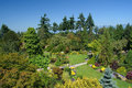 Queen elizabeth park vancouver public gardens in british columbia Stock Photography