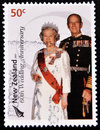 Queen Elizabeth and Prince Philip Royalty Free Stock Image