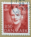 Queen Margrethe II Royalty Free Stock Photo