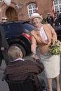 QUEEN MARGRETHE & PRINCE HENRIK Royalty Free Stock Photo