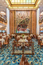 Queen Mary 2 Britannia Restaurant Royalty Free Stock Photo