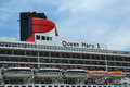 Queen mary cruise ship details new york city july docked at brooklyn terminal on july is cunard's flagship ready for Stock Photos