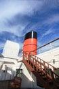 Queen Mary in Long Beach, California, USA Royalty Free Stock Photo
