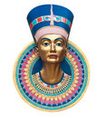 Queen Nerfertiti Royalty Free Stock Photo