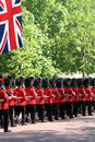 The Queen's Birthday Parade Royalty Free Stock Image