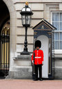 Queen's Guard, Buckingham Palace, London Royalty Free Stock Photo