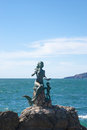 Queen of the seas statue at mazatlan mexico Stock Photography