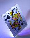Queen Of Spades Royalty Free Stock Photo