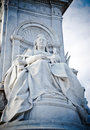 Queen Victoria Memorial Royalty Free Stock Photo