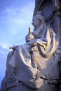 Queen Victoria Memorial Stock Image