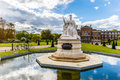Queen Victoria monument at Kensigton palace Royalty Free Stock Photo