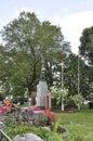 Niagara Falls, 24th June: Queen Victoria Park from Niagara Falls in Ontario Province of Canada Royalty Free Stock Photo