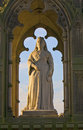 Queen victoria statue monument harrogate Royalty Free Stock Photography
