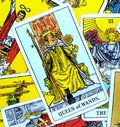 Queen of Wands Tarot Card Royalty Free Stock Photo