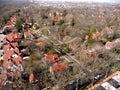 Queens borough aerial New York Stock Photos
