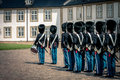 Queens guard, Denmark Royalty Free Stock Photo