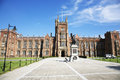 Queens university belfast the main buildings of the in northern ireland Stock Image