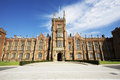 Queens university belfast northern ireland part of the main building at Royalty Free Stock Images