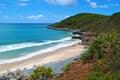 Queensland coast Royalty Free Stock Photo