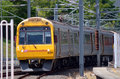 Queensland rail brisbane aus sep train have million customer journeys on the city network south east Stock Image
