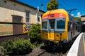 Queensland rail train aus dec door have million customer journeys on the city network south east per Stock Photos